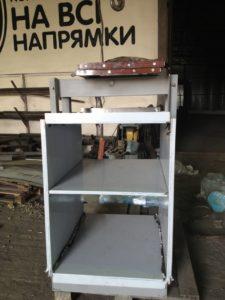 Установка кухонного лифта