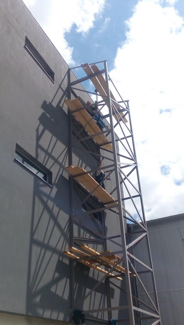 Производство металокаркассной шахты