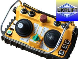 перевода крана на радиоуправление