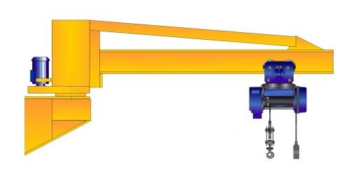 Настенный консольный кран